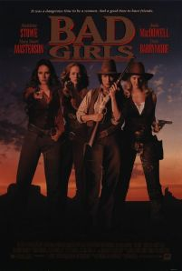 The one with 1990's 'it' girls shooting at men in the 1890's.