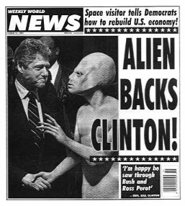 The alien community of Earth will probably be upset by their depiction. Goodbye campaign donations.