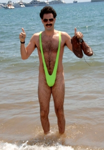 World's funniest, scariest, strangest, nastiest, and most bewildering one peice bathing suit.