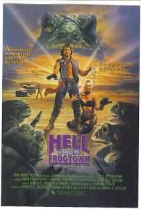 This is one of the few movies with Hell in the title that I've seen. Yes, it is awesome. And yes, that is a robo-chastity belt around former WWF wrestler Rowdy Roddy Piper