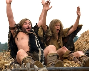These guys were raising the roof before there was one