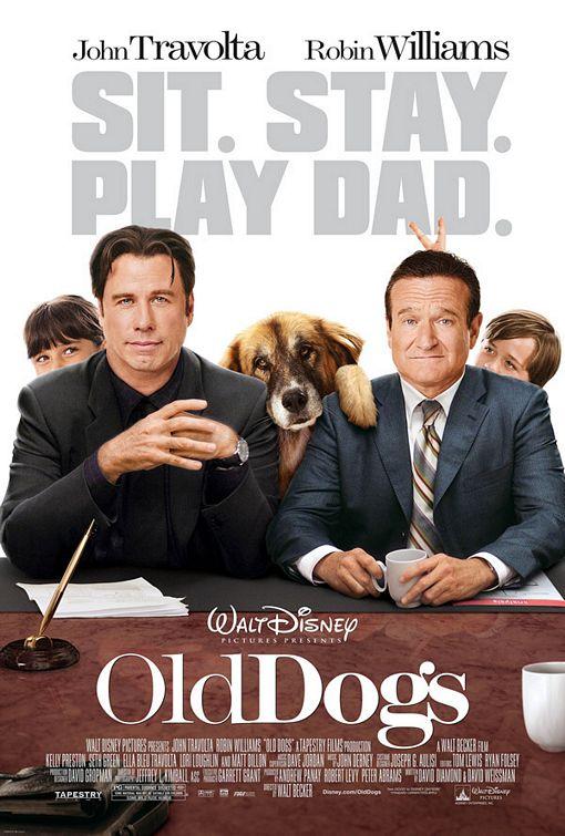 Ο Ρόμπιν Γουίλιαμς και ο Τζον Τραβόλτα είναι Old Dogs (γερόλυκοι)...